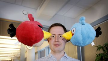 Angry Birds Mikael Hed