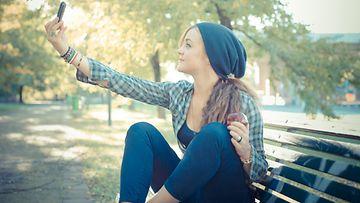 some,-nukkuminen,-selfie-