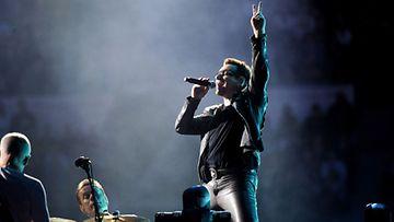 U2 Helsingissä 20.8. 2010 (Lehtikuva)