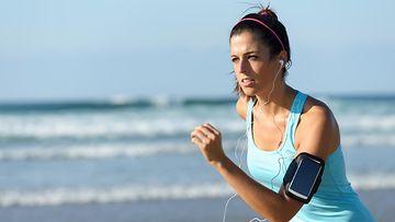 Fitness, älypuhelin, juoksu
