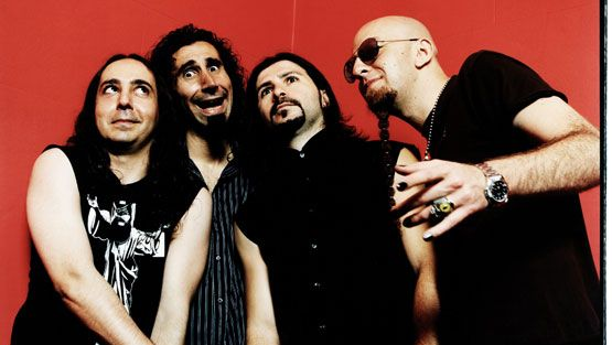 System Of A Down saapuu keikalle vihdoin Suomeen.