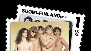 Eppu-Normaali postimerkissä. Merkin design on Klaus Welpin.