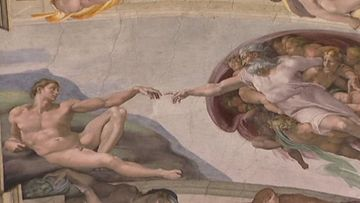 Tämän mestariteoksen maalaamiseen meni monta vuotta.