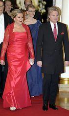 Pepe Willberg ja vaimo Pauliina