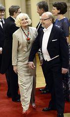 Kansanedustaja Juha Väätäinen ja vaimo Liisa Väätäinen