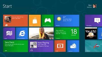 Windows 8. Kuvakaappaus Microsoftin esittelyvideosta.