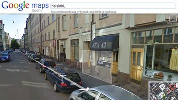 Google maps street view from Helsinki