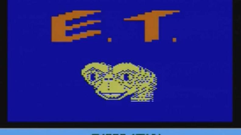 Atarin E.T. -peli vuodelta 1982