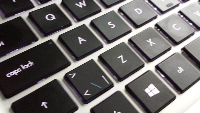 HP SPECTRE XT TouchSmart Ultrabook, näppäimet, näppäimistö