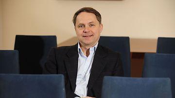 Tietotekniikka-asiantuntija Petteri Järvinen kirjansa Yksityisyys - turvaa digitaalinen kotirauhasi -kirjan julkistamistilaisuudessa WSOY:n tiloissa Helsingissä 25. maaliskuuta 2010.