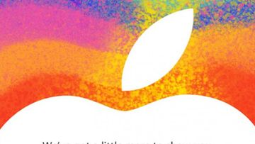 Applen kutsu tiedotustilaisuuteen 23.10.2012. Kuvakaappaus the Loop-sivustolta.