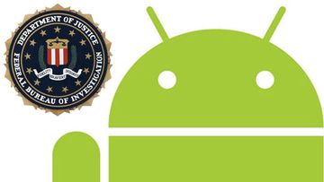 Android / FBI -logot