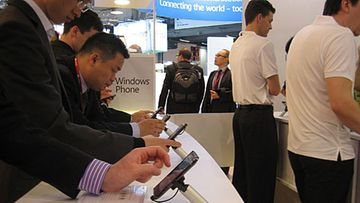 Microsoft, Windows Phone 7, Barcelona MWC