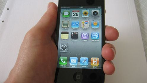 "iPhone 4 ""kuoleman ote"""