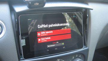 CoPilot Live -navigaattorisovellus.