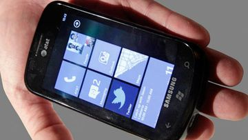 Samsung Focus, Windows phone 7, WP7