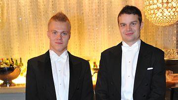 Mikael Granlund ja Janne Pesonen.