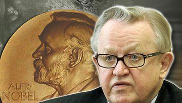 Martti Ahtisaari sai Nobelin rauhanpalkinto