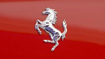 Ferrarin tunnettu logo