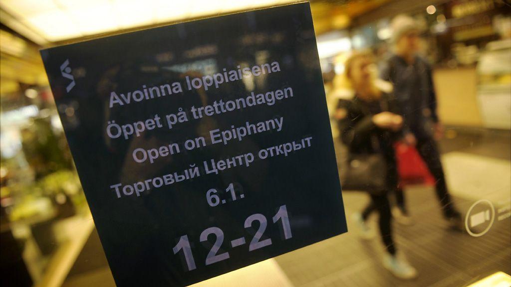 Loppiaisena kaupat auki monilla paikkakunnilla - MTVuutiset.fi