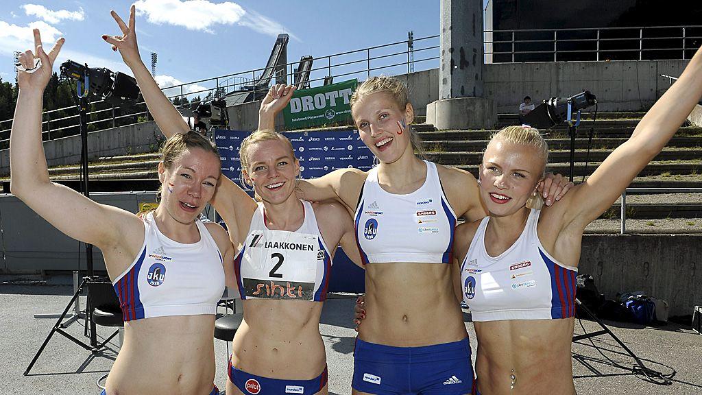 Suomalaiset Naisjuoksijat