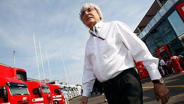 Bernie Ecclestone Monzassa 2011.