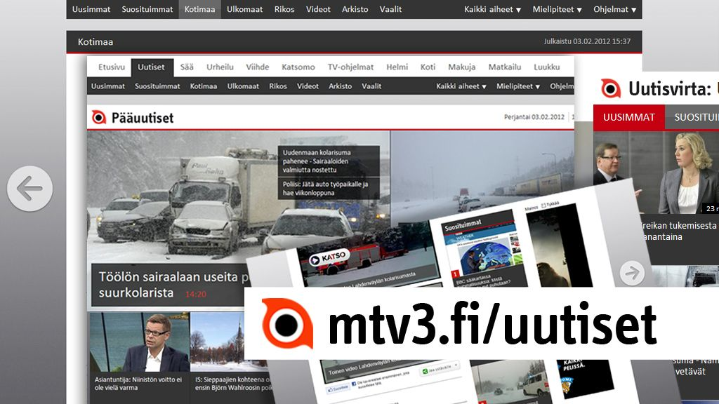 mtv3 ohjelmat netissä Joensuu