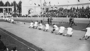 olympialaiset 1920, köydenveto