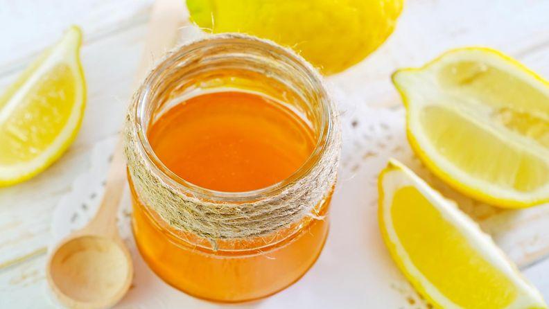 hunajaa, sitruunaa