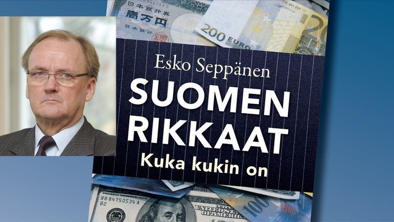 Antti Herlin Esko Seppäsen kirja Suomen rikkaat