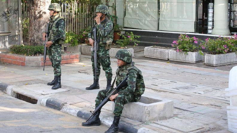 Thaimaan sotilaat