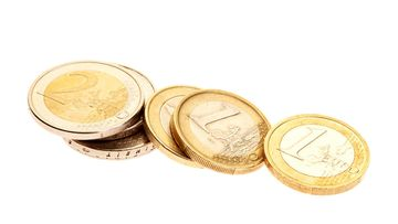 eurot, kolikot, raha