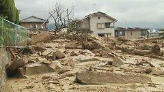 Japanin maanvyöryissä lisää uhreja – kymmeniä yhä kadoksissa