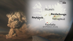 Ilmatila avattiin j�lleen Islannissa