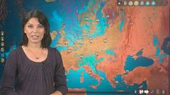 Euroopan sää: Välimerellä jopa 40 astetta, tulva katkaissut teitä Ruotsissa