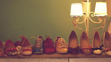 kengät, vintage