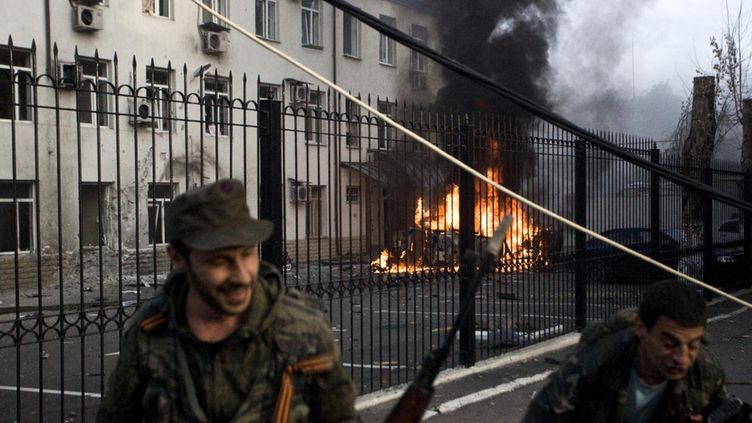 Separatistit vallanneet alueita It�-Ukrainassa
