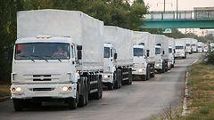 Ven�j�n kolmas apusaattue saapui It�-Ukrainaan
