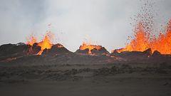 Bardarbungan l�hell� levi�v� rikkidioksidi uhkaa alueen asukkaita