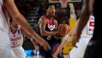 Derrick Rose USA koripallo