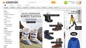 Kuvakaappaus Zalandon nettisivuilta.
