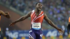 Justin Gatlin voittoon