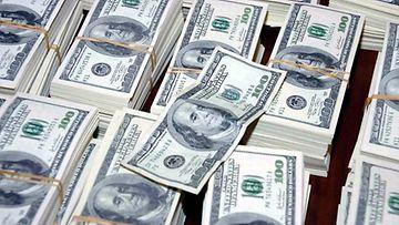 Yhdysvaltain dollareita