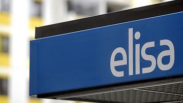 Teleoperaattori Elisan logo.