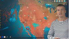 Jättirakeita Espanjassa, tulvia Meksikoon ja Yhdysvaltoihin