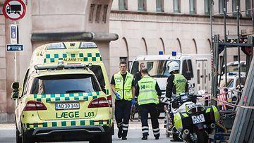 Asianajaja ammuttiin oikeudessa K��penhaminassa