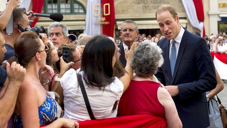 Prinssi William Maltalla