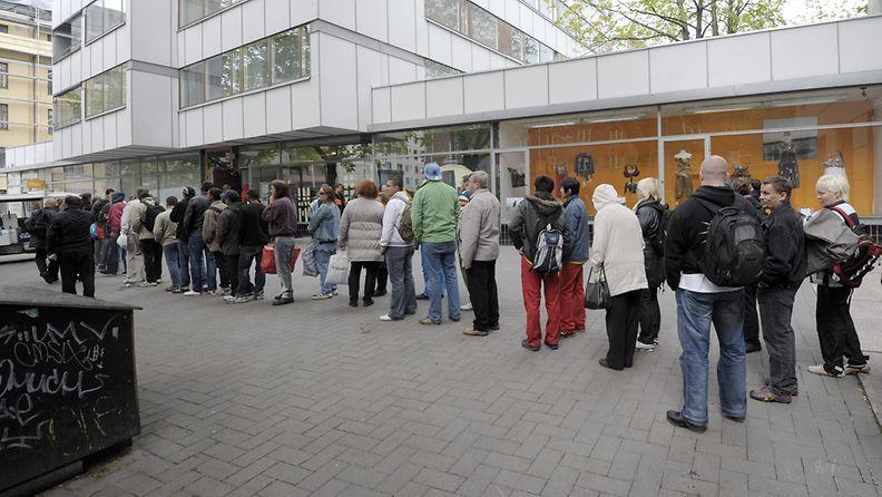 Leipäjono Helsinki 2011