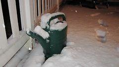 Rankka lumipyry katkoi s�hk�t 7000:lt� Pohjois-Karjalassa
