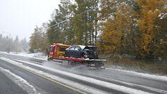 Lumipyry iskee myös pohjoiseen – ajokeli jopa erittäin huono